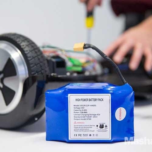 نحوه تعویض باتری اسکوتر برقی